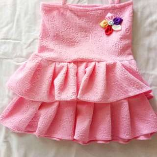pinky sexy dress