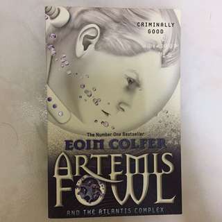 Artemis Fowl and the Atlantis Complex (Eoin Colfer)