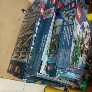 [打風濕晒] Lego 10218 10216 10235 10173 10197 40106 10199 10211