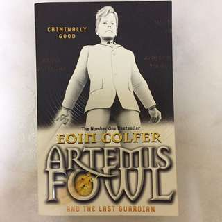 Artemis Fowl and the Last Guardian (Eoin Colfer)
