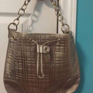 Burberry Metallic Handbag