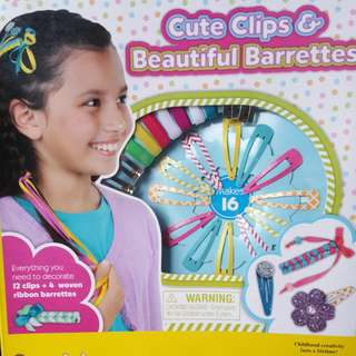 Cute Clips And Barrettes Set