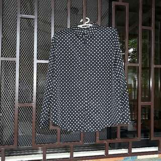 Polkadot Longsleeves Top