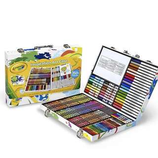 💯Brand New Sealed In Box Crayola Inspiration Art Case: Art Tools, 140 Pieces, Crayons, Colored Pencils, Washable Markers, Paper, Portable Storage