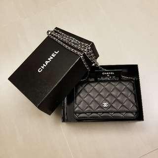 Chanel羊皮classic WOC