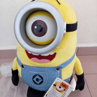 Minion With Multiple Laughter Buttons