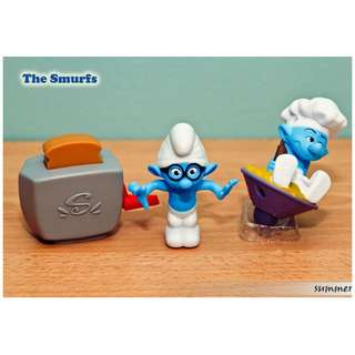 Happy Meal Smurf