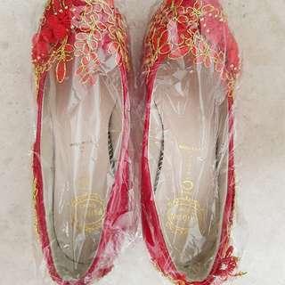 Red Wedding Heels