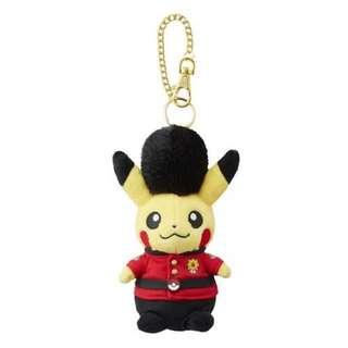 英國 日本 美國 荷蘭 限定版比卡超 吊飾 鎖鑰扣 寵物小精靈