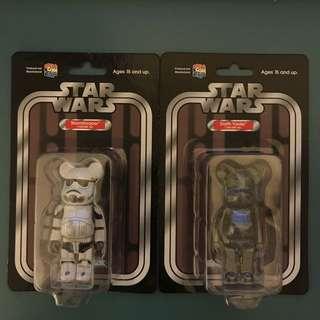 Star Wars Bearbrick set