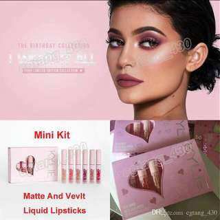 !!Kylie I Want It All In Velvet or Matte Liquid Lip Kits!!