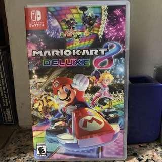 Switch MarioKart Deluxe 8