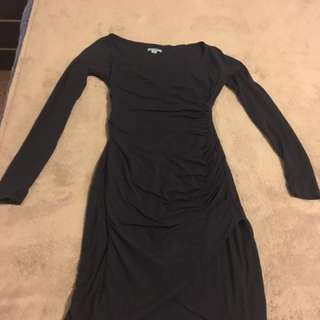 Kookai Navy Cross Over Dress Size 1