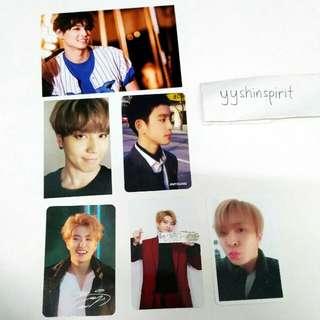 [WTT/WTS] GOT7 Official Photocards
