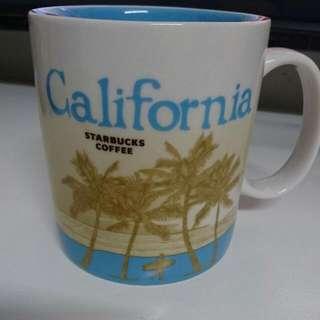 星巴克 城市杯 加州
