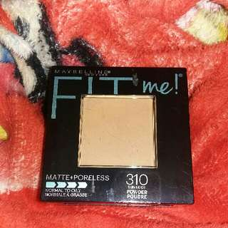Maybelline's FIT ME Pressed Powder