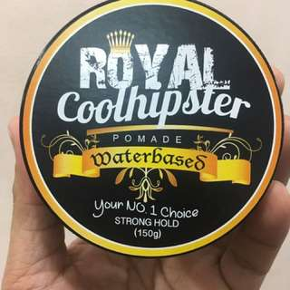Cool Hipster Waterbased Pomade