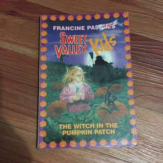 Sweet Valley Kids The Witch in the Pumpkin Patch by Francine Pascal