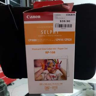 Canon SELPHY Compact Printer Ink