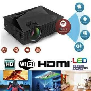 WIFI MINI projector UC46 portable presentation office/home