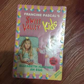Sweet Valley Kids Elizabeth Hatches an Egg by Francine Pascal