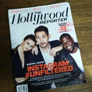 Selena Gomez and Kevin Hart The Hollywood Reporter