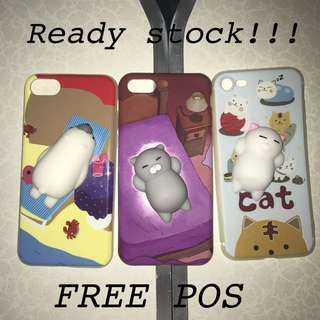 INCLUDED POS 3D SQUISHY PHONE CASE