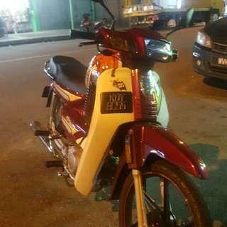 VIP PLATE & MOTORCYCLE