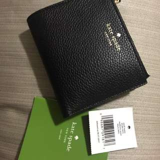 Kate Spade ♠️ Small Malea Mulberry Street Black