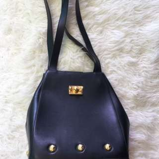 Vintage Salvatore Ferragamo Leather Tote