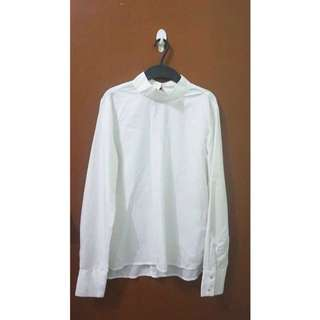 Calliope White Longsleeves Top