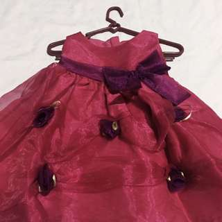 Pink Ball Dress