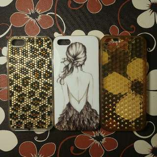 (SALEEE!!) Iphone 5/5s Bundle Case