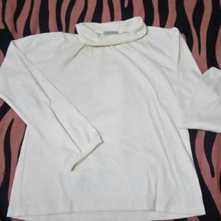 Turtle Neck Blouse