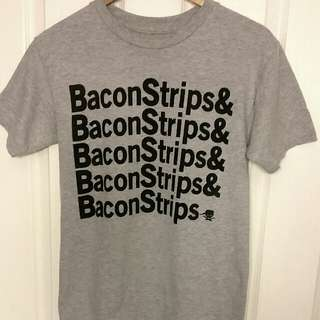 Men's T-Shirt Bacon Lovers Size S