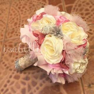 Handmade Bridal Bouquet (made-to-order)