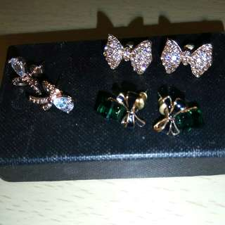 Free one pair of Earrings of any purchase