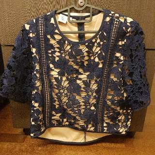 The Stage Walk Top - Crotchet Lace