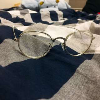全新✔️透明框眼鏡👓