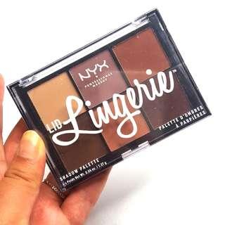 NYX Lid Lingerie Eye shadow Palette