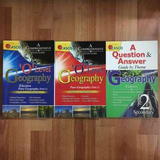 Secondary Geography revision guide