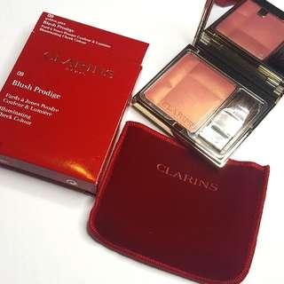 Clarins Blush In 09 Golden Pink