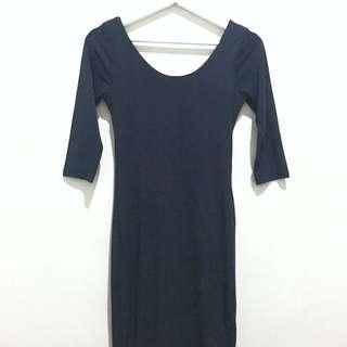 Dark Blue Bodycon Dress