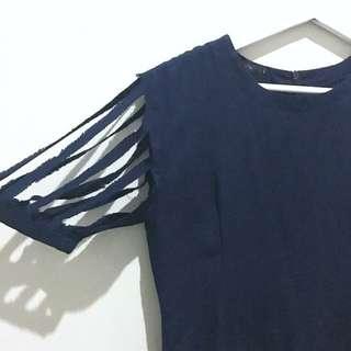 PORTE the Label Dark Blue Dress