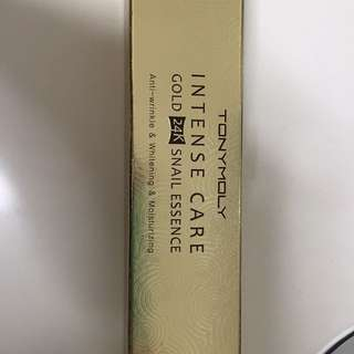 Toby moly  Gold 24k Snail Essence