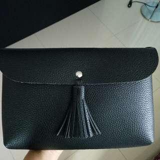 Simple Tassels Crossbody Bag