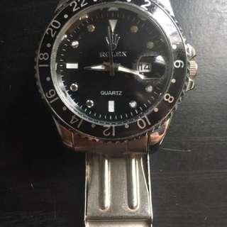 Rolex Watch: Men's Master Series Quartz