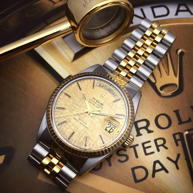 Sold 35mm Tudor Date Day Vintage Amp Collectibles