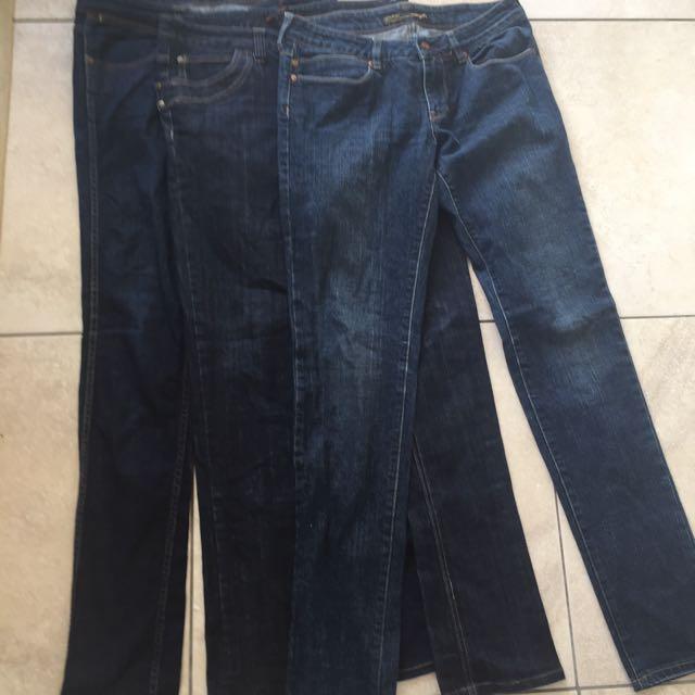 3 x Wrangler Denim Jeans