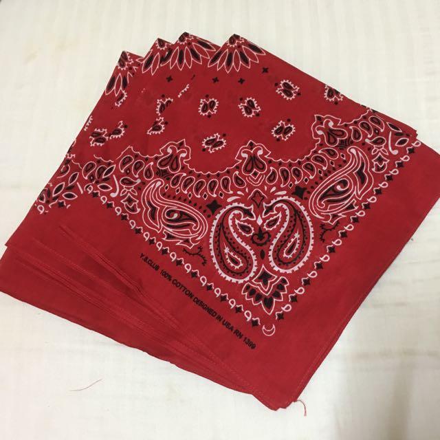 4pcs. Scarf Bandana Cowboy Handkerchief